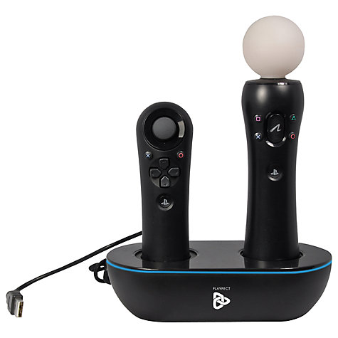 Buy Playfect PS3 move Power Station, Twin Pack Online at johnlewis.com
