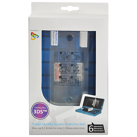 Buy Playfect Screen Protector x5 for 3DS Online at johnlewis.com