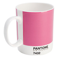Buy Pantone Mug, Raspberry Crush 7432 Online at johnlewis.com