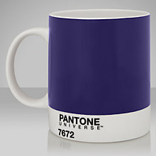Buy Pantone Mug, Violet 7672 Online at johnlewis.com