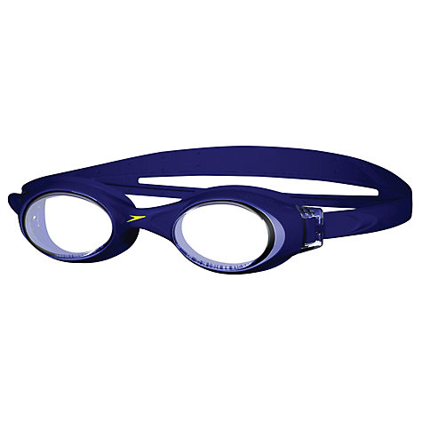 Buy Speedo Rapide Goggles, Navy/Clear Online at johnlewis.com