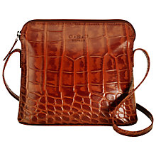Buy O.S.P OSPREY Basel Small Mock Croc Across Body Handbag Online at johnlewis.com