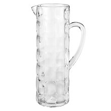 Buy John Lewis Acrylic Jug, Aqua Online at johnlewis.com