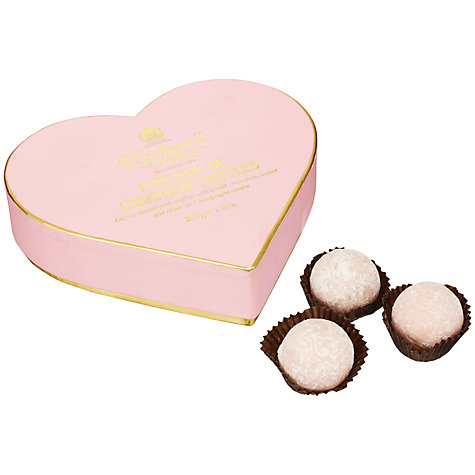 Buy Charbonnel et Walker Pink Marc de Champagne Truffles, 200g Online at johnlewis.com