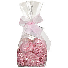Buy Ambassadors of London Pink Nonpareils White Chocolate Hearts, 190g Online at johnlewis.com