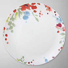 Buy John Lewis Bloom Dinner Plate, Dia.21cm Online at johnlewis.com