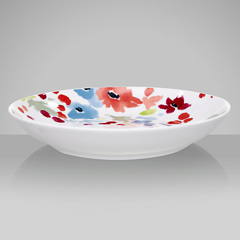Buy John Lewis Bloom Pasta Bowl, Dia.23cm Online at johnlewis.com