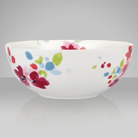 Buy John Lewis Bloom Serve Bowl, Dia.22cm Online at johnlewis.com