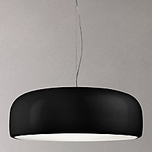 Buy Flos Smithfield Ceiling Light, Black Online at johnlewis.com