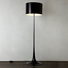 Buy Flos Spun Floor Lamp, Black Online at johnlewis.com