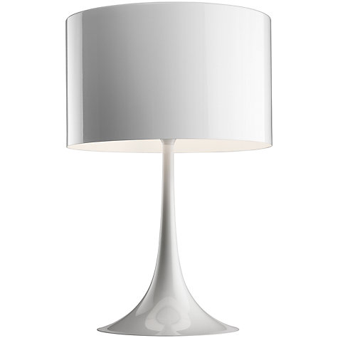 Buy Flos Spun T2 Table Lamp, White Online at johnlewis.com