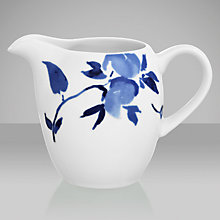 Buy John Lewis Blue Rose Creamer Online at johnlewis.com