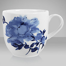 Buy John Lewis Blue Rose Mug Online at johnlewis.com