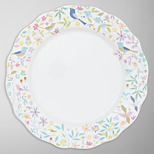 Buy Portmeirion Secret Garden Porcelain Dinner Plate, Dia.27.5cm Online at johnlewis.com