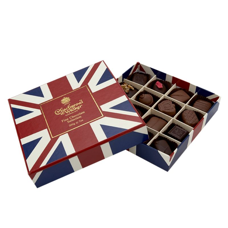 Charbonnel Et Walker Chocolates In A Union Jack Box, 200g