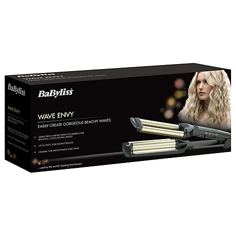 Buy BaByliss 2337U Wave Envy Hair Styler Online at johnlewis.com