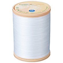 Buy Coats Craft Cotton, 1000m, White 1716 Online at johnlewis.com