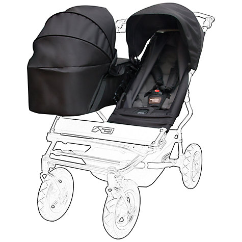 Buy Mountain Buggy Duet Carrycot, Black Online at johnlewis.com