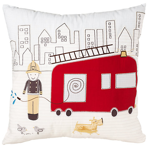 Buy John Lewis Men At Work Cushion Online at johnlewis.com
