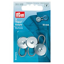 Buy Prym Flexi Buttons, Pack of 3, 19mm Online at johnlewis.com