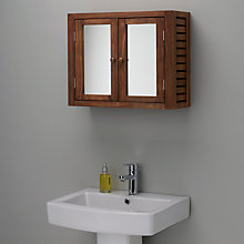 Buy John Lewis Jakarta Double Mirrored Bathroom Cabinet Online at johnlewis.com