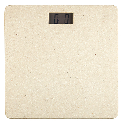 John Lewis Dune Digital Bathroom Scale, Sandstone