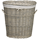 Willow oval laundry bin