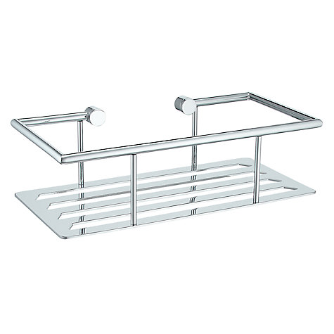 Buy John Lewis Contemporary Rectangular Shower Shelf Online at johnlewis.com