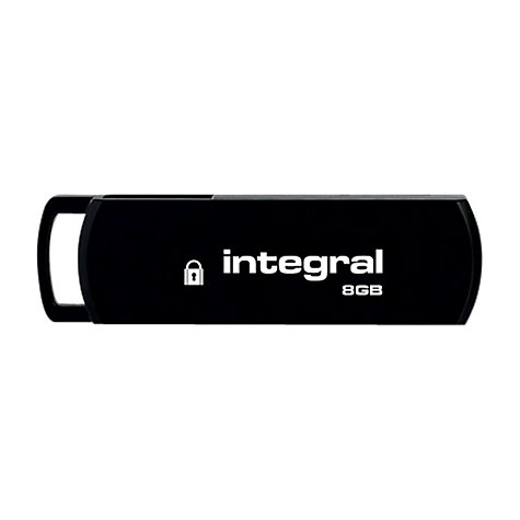 Buy Integral Secure 360 Encrypted USB Flash Drive, 8GB Online at johnlewis.com