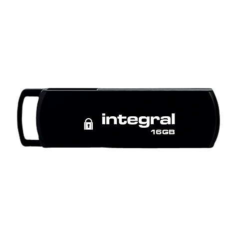Buy Integral Secure 360 Encrypted USB Flash Drive, 16GB Online at johnlewis.com