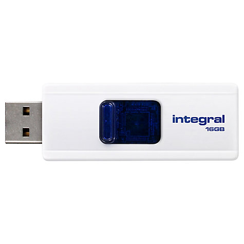 Buy Integral Slide USB Flash Drive, 16GB Online at johnlewis.com