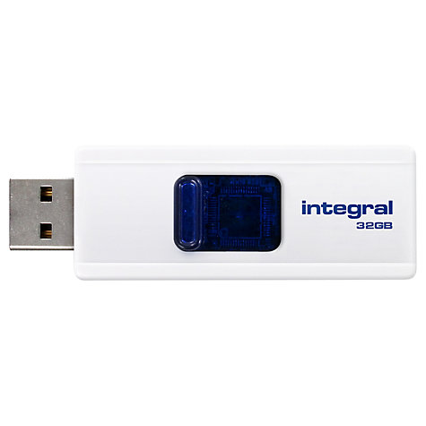 Buy Integral Slide USB Flash Drive, 32GB Online at johnlewis.com