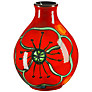 Poole Pottery Poppyfield Bud Vase, H12.5cm