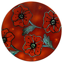Buy Poole Poppyfield Plaque, Dia.25cm Online at johnlewis.com