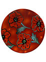 Poole Pottery Poppyfield Plaque, Dia.25cm