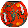 Poole Pottery Poppyfield Purse Vase, H20cm