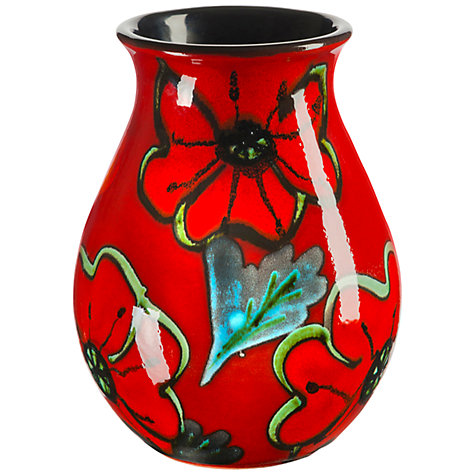 Buy Poole Poppyfield Venetian Posy Vase, H16cm Online at johnlewis.com