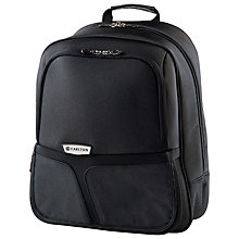 Buy Carlton Cell Expandable Laptop Folio Bag, Black Online at johnlewis.com