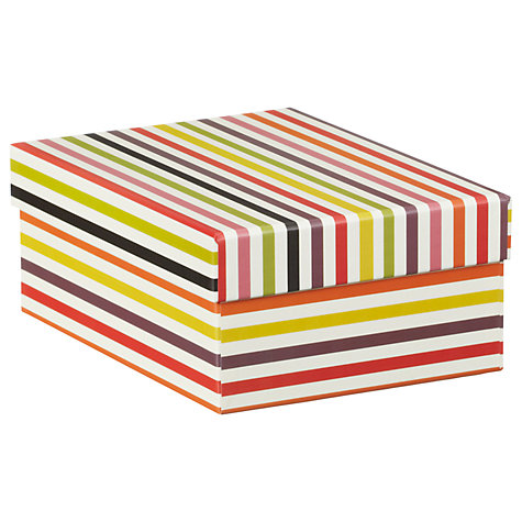 Buy Caroline Gardner Multi Stripe Gift Box Online at johnlewis.com