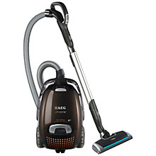 Buy AEG AUO8870 UltraOne Cylinder Vacuum Cleaner, Chocolate Brown Online at johnlewis.com
