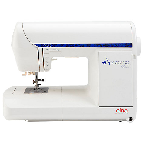 Buy Elna eXperience 660 Sewing Machine Online at johnlewis.com