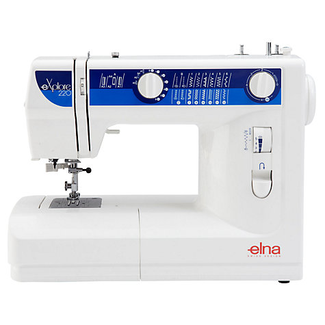 Buy Elna eXplore 220 Sewing Machine Online at johnlewis.com