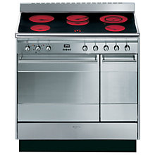 Buy Smeg SUK92CMX8 Electric Range Cooker, Stainless Steel Online at johnlewis.com