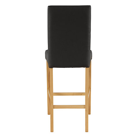 Buy John Lewis Miso Leather Covered Bar Chairs Online at johnlewis.com