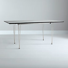 Buy House by John Lewis Lia 10 Seater Extending Dining Table, White Online at johnlewis.com