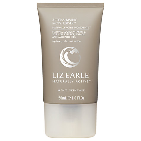 Buy Liz Earle After-Shaving Moisturiser™, 50ml Online at johnlewis.com