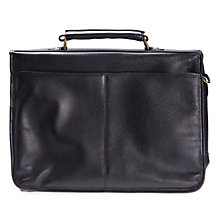 Buy Barbour Leather Briefcase Online at johnlewis.com