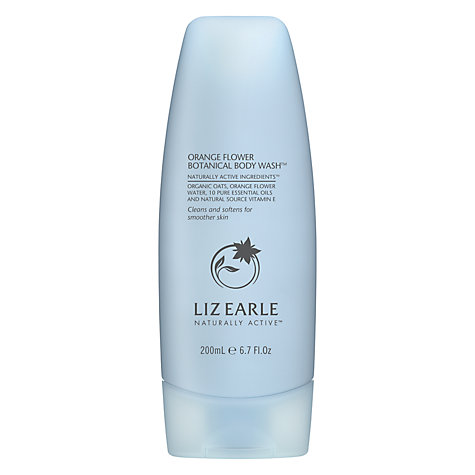 Buy Liz Earle Orange Flower Botanical Body Wash™, 200ml Online at johnlewis.com