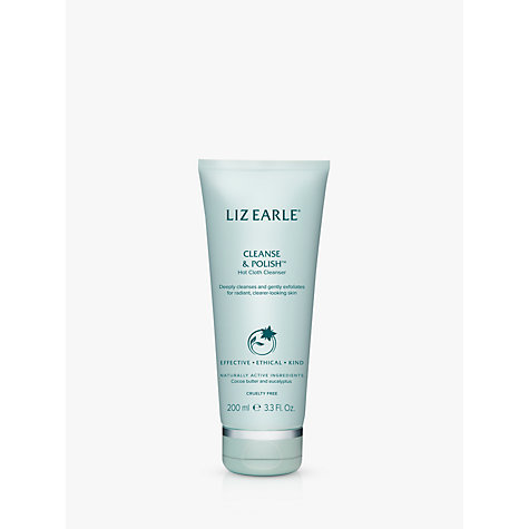 Buy Liz Earle Cleanse & Polish™ Hot Cloth Cleanser, 200ml Online at johnlewis.com