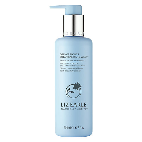 Buy Liz Earle Orange Flower Hand Wash
